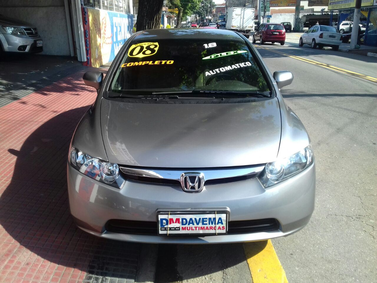 CIVIC LXS 1.8 FLEX AUT. 2008
